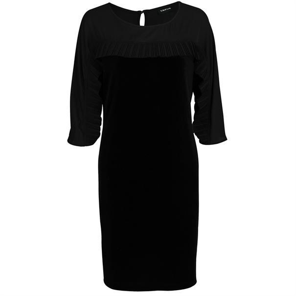 Taifun jurk 881023-16850 in het Zwart