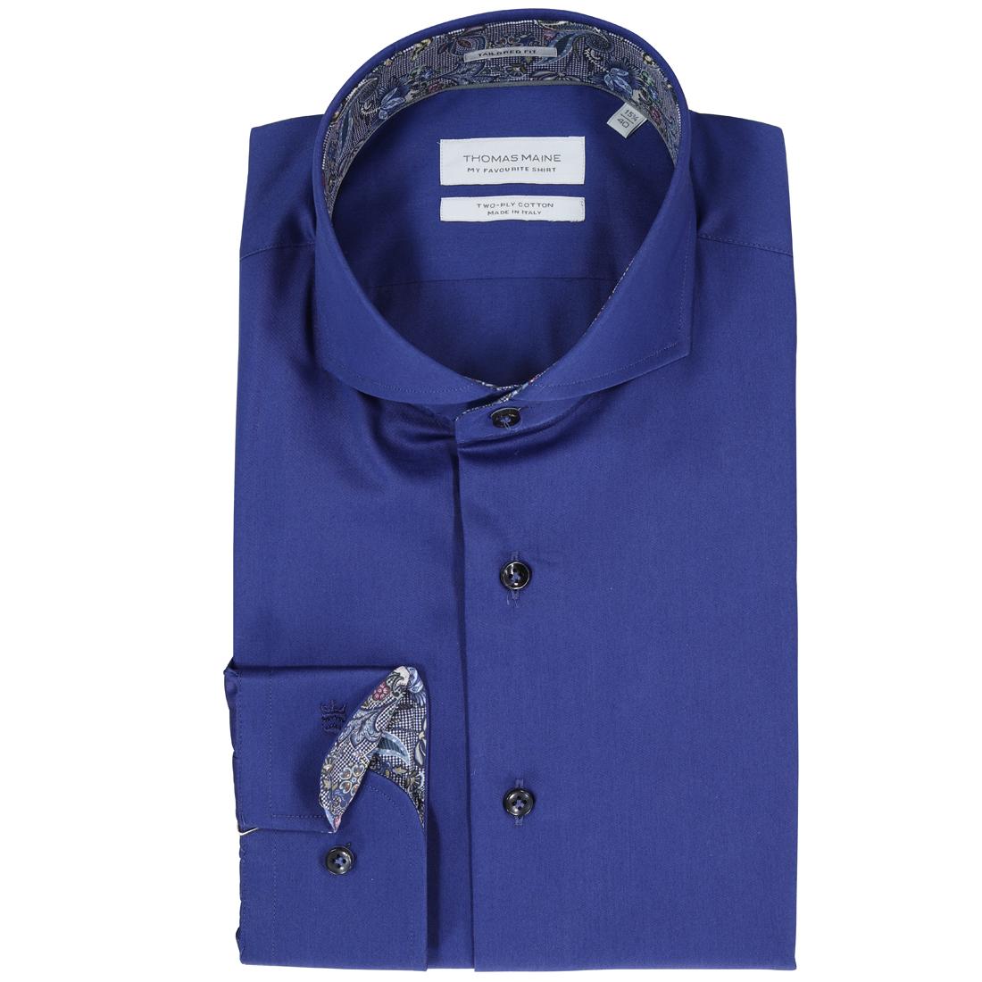 Image of Thomas Maine overhemd 827700 in het Bruin