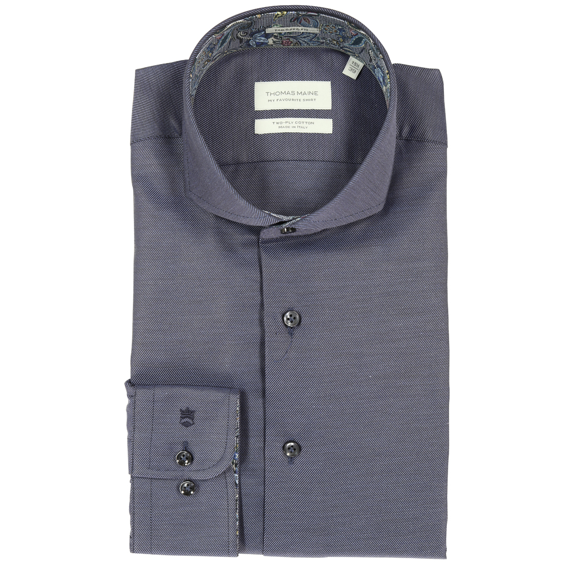 Image of Thomas Maine overhemd 827720 in het Blauw