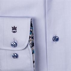 Thomas Maine overhemd Tailored Fit 107725A in het Licht Blauw