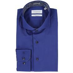Thomas Maine overhemd Tailored Fit 827700 in het Bruin