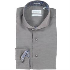 Thomas Maine overhemd Tailored Fit 827720 in het Taupe