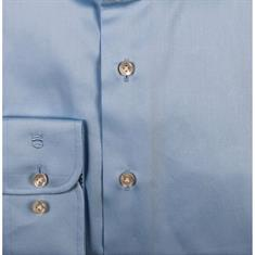 Thomas Maine overhemd Tailored Fit 91-7700a in het Licht Blauw
