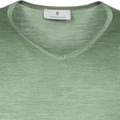 Thomas Maine truien 1081TM100 in het Licht Groen