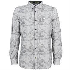 Tom Tailor casual overhemden Tailored Fit 1005380 in het Grijs