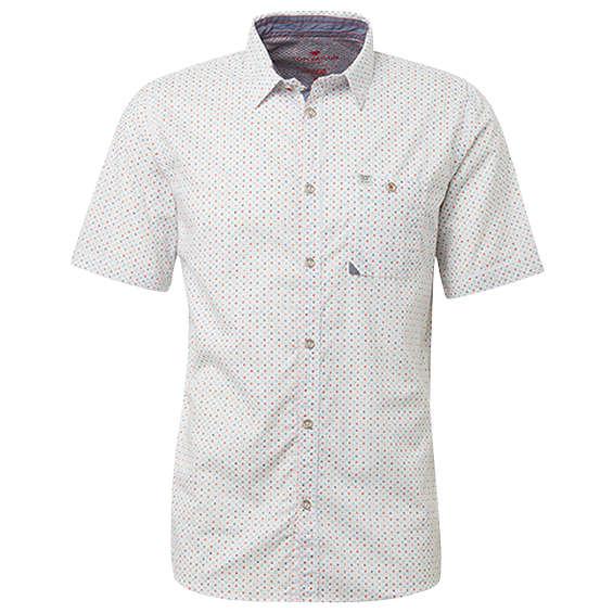 Tom Tailor overhemd 1010113 in het Wit/Blauw