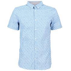 Tom Tailor overhemd 1011743 in het Licht Blauw