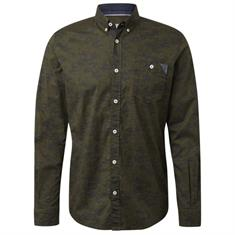 Tom Tailor overhemd 1013901 in het Groen