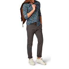 Tom Tailor overhemd Regular Fit 1005364 in het Aqua
