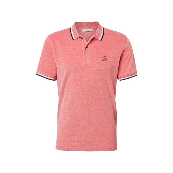 Tom Tailor polo's 1008653 in het Rood