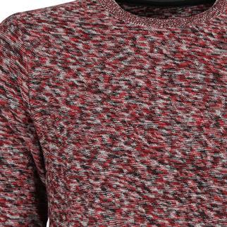 Tom Tailor ronde hals trui 30217180010 in het Rood