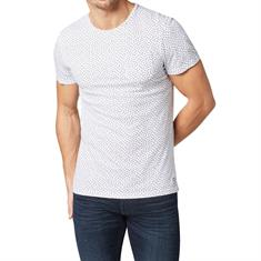 Tom Tailor t-shirts 1009915 in het Wit/Blauw