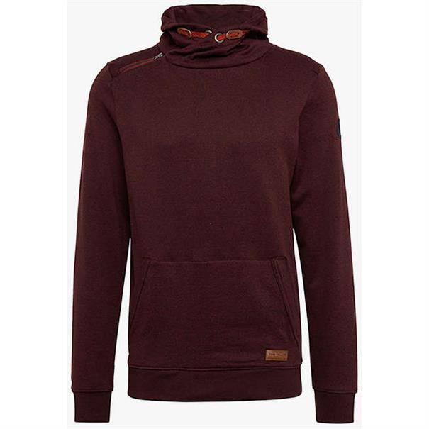 Tom Tailor truien 1006077 in het Donker Rood