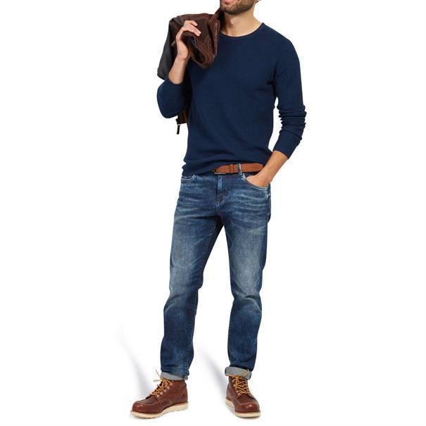 Tom Tailor truien 30228300910 in het Donker Blauw