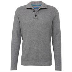 Tom Tailor truien 30228479910 in het Grijs Melange