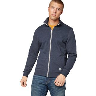 Tom Tailor vest 1015895 in het Marine