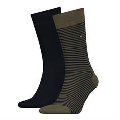 Tommy Socks accessoire 342029001 in het Olijf groen