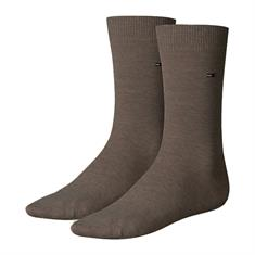 Tommy Socks accessoire 371111 in het Donker Bruin