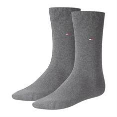Tommy Socks accessoire 371111 in het Grijs Melange