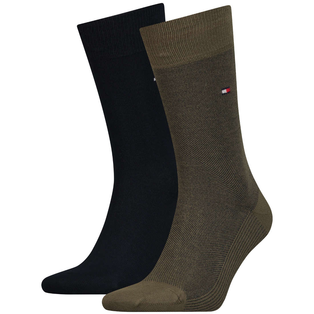 Tommy Socks accessoire 482004001 in het Olijf groen