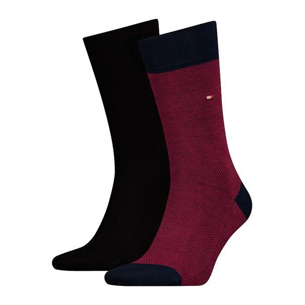 Tommy Socks accessoire 492025001 in het Rood