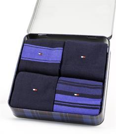 Tommy Socks sokken 100000845 in het Donker Blauw