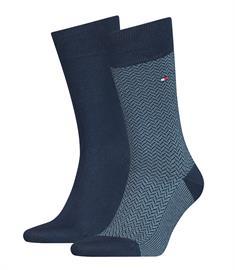 Tommy Socks sokken 100001199 in het Donker Blauw