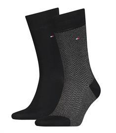 Tommy Socks sokken 100001199 in het Marine