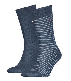 Tommy Socks sokken 100001496 in het Denim