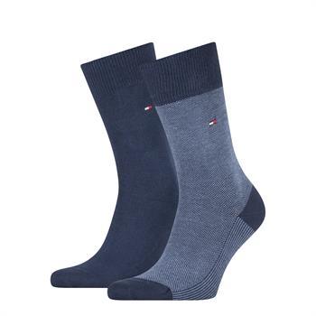 Tommy Socks sokken 100002655 in het Marine
