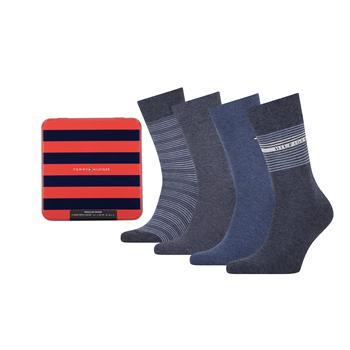 Tommy Socks sokken 701210548 in het Denim