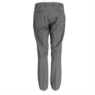 Tommy Tailored business pantalon Slim Fit tt0tt00857 in het Licht Grijs
