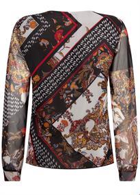 Tramontana blouse c01-92-401 in het Zwart / Wit