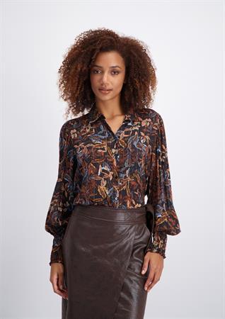Tramontana blouse C03-02-301 in het Multicolor