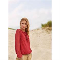 Tramontana blouse c04-90-301 in het Rood