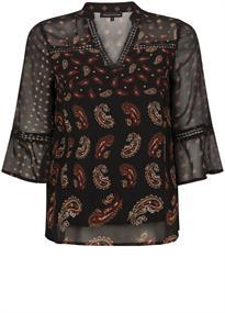 Tramontana blouse C06-96-301 in het Zwart