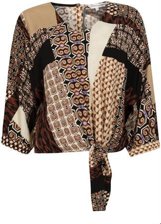 Tramontana blouse C09-98-301 in het Bordeaux