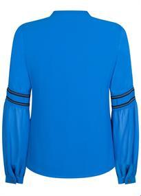Tramontana blouse c25-93-302 in het Kobalt