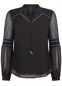 Tramontana blouse c25-93-302 in het Zwart
