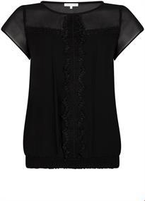 Tramontana blouse c25-95-305 in het Wit.