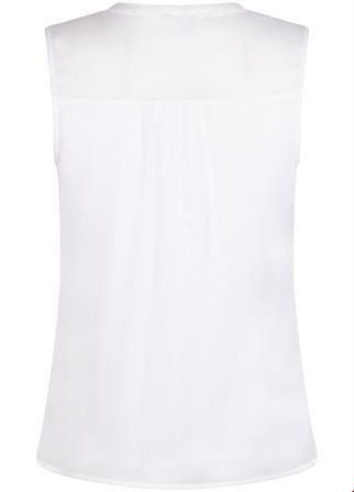 Tramontana blouse c26-95-304 in het Wit.