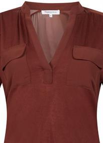Tramontana blouse C27-98-401 in het Camel