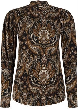 Tramontana blouse d04-01-401 in het Bruin