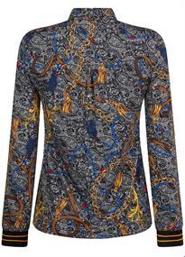 Tramontana blouse d10-93-402 in het Zwart / Wit