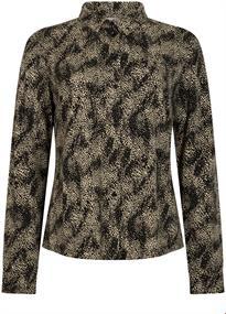 Tramontana blouse D10-98-401 in het Zwart