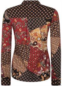 Tramontana blouse D13-96-401 in het Bruin