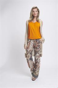 Tramontana blouse d20-94-401 in het Oranje