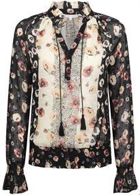 Tramontana blouse e07-94-301 in het Zwart / Wit