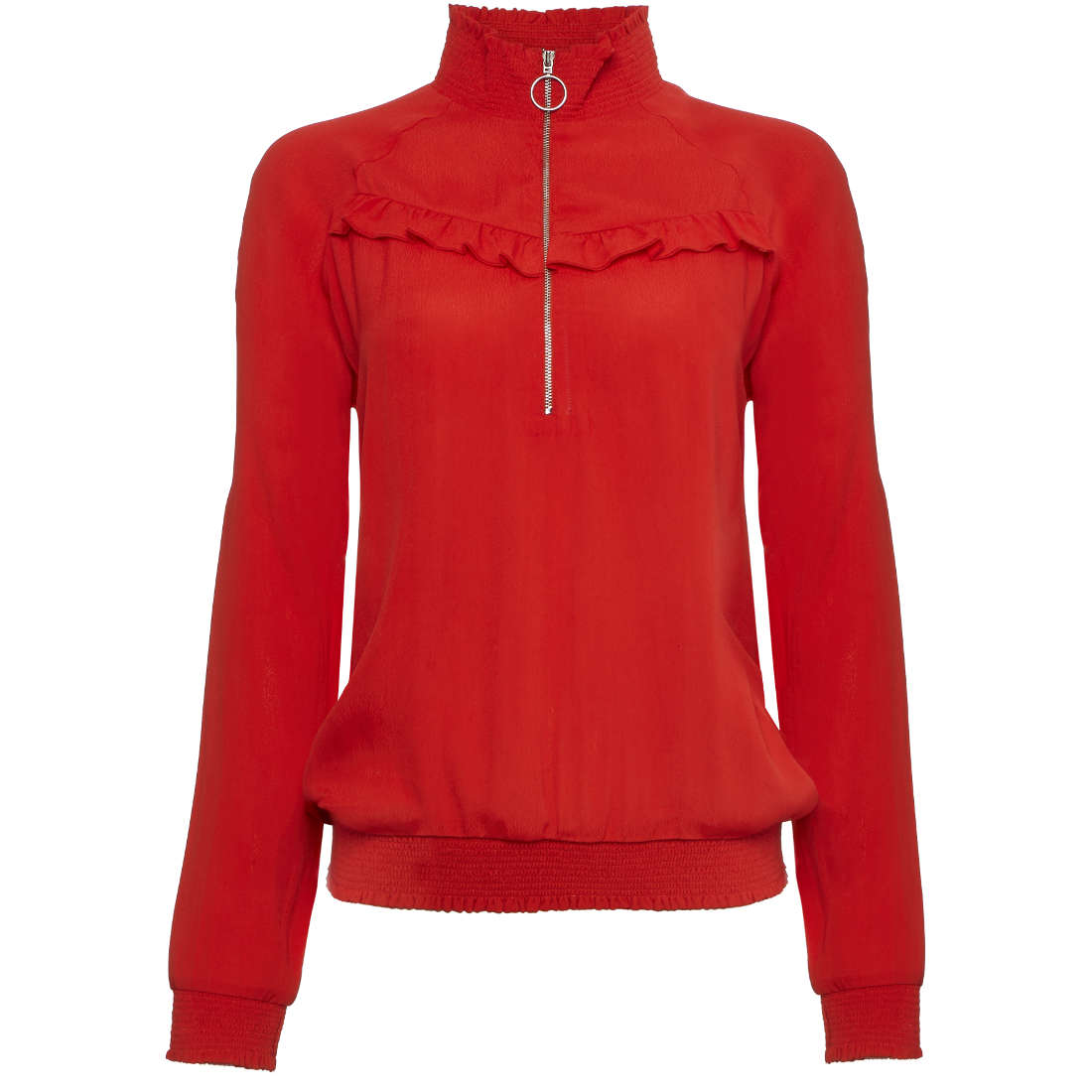 Image of Tramontana blouse i01-89-302 in het Rood