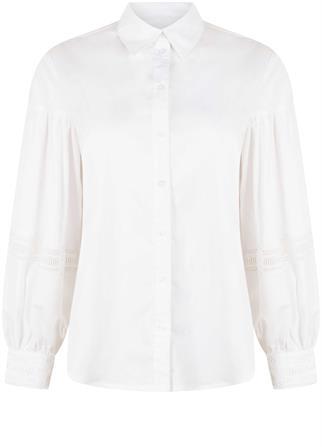 Tramontana blouse q19-01-301 in het Wit